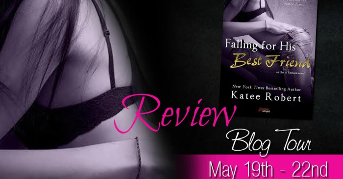 REVIEW & GIVEAWAY: FALLING FOR HIS BEST FRIEND by Katee Robert