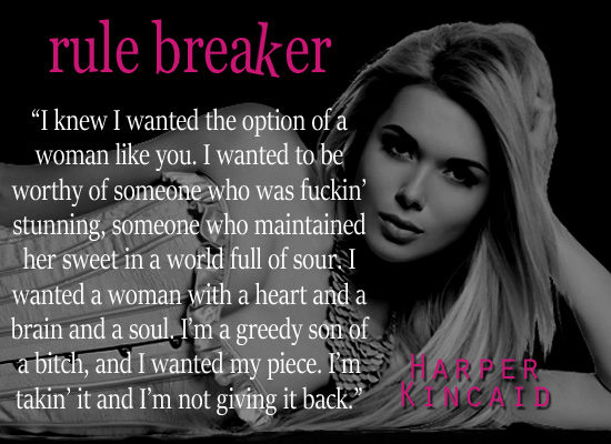 BOOK SPOTLIGHT & GIVEAWAY: RULE BREAKER by Harper Kincaid