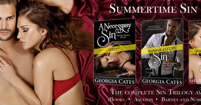 SUMMERTIME SALE: SIN TRILOGY by Georgia Cates