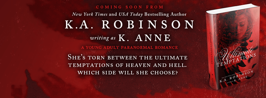 COVER REVEAL & GIVEAWAY: Ultimate Temptations by K.A. Robinson