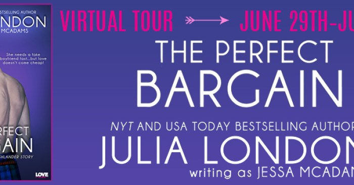 REVIEW & GIVEAWAY: THE PERFECT BARGAIN by Julia London w/a Jessa McAdams