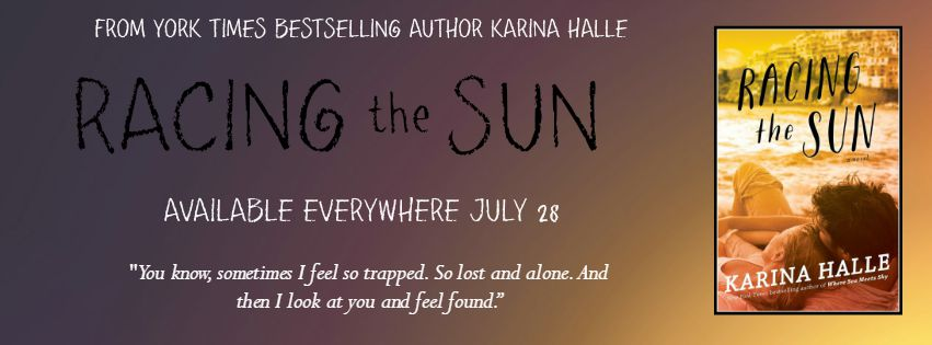 RELEASE BLITZ & GIVEAWAY: RACING THE SUN by Karina Halle