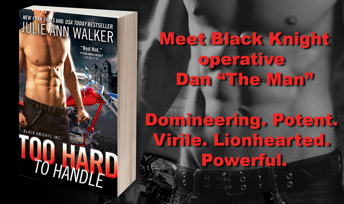 SPOTLIGHT TOUR & GIVEAWAY: TOO HARD TO HANDLE by Julie Ann Walker