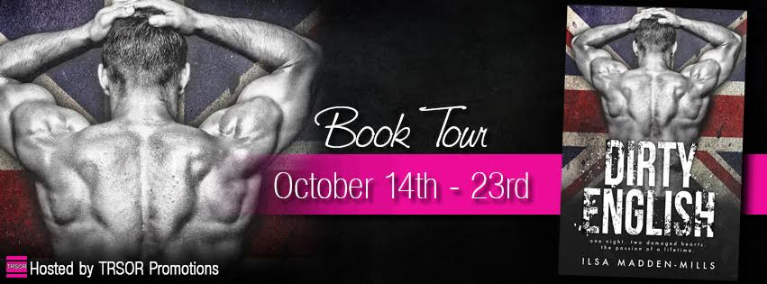 DIRTY ENGLISH BOOK TOUR