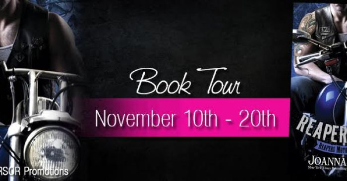 REVIEW, EXCERPT & GIVEAWAY: REAPER'S FALL by Joanna Wylde