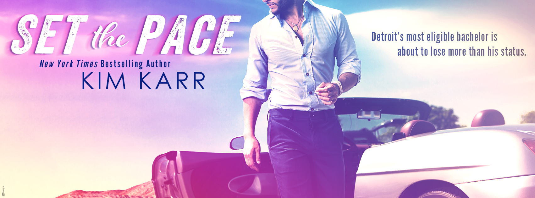 COVER REVEAL: SET THE PACE by Kim Karr