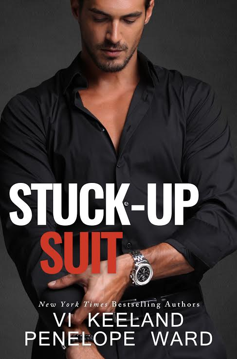 COVER REVEAL: STUCK-UP SUIT by Penelope Ward & Vi Keeland