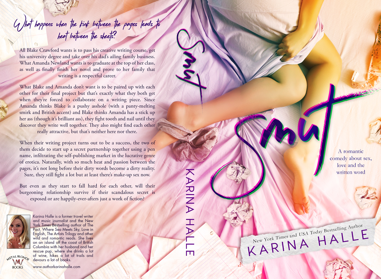 COVER REVEAL: SMUT by Karina Halle