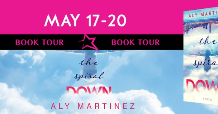 REVIEW, EXCERPT & GIVEAWAY: THE SPIRAL DOWN by Aly Martinez