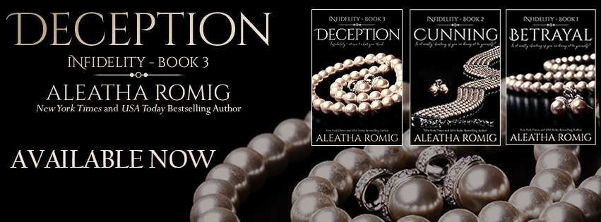 NEW RELEASE & EXCERPT: DECEPTION by Aleatha Romig