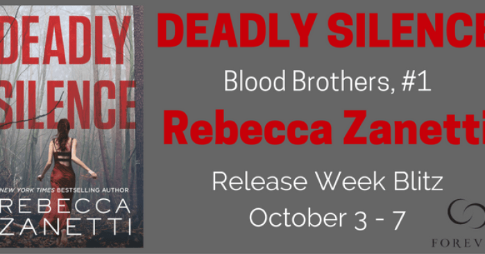 Q&A, EXCERPT & GIVEAWAY: DEADLY SILENCE by Rebecca Zanetti