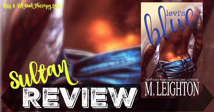 REVIEW: LEVI'S BLUE by M. Leighton