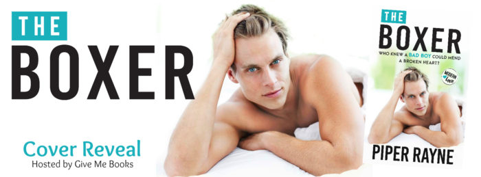 COVER REVEAL & GIVEAWAY: THE BOXER by Piper Rayne