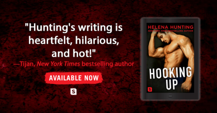 RELEASE BLITZ & EXCERPT: HOOKING UP by Helena Hunting