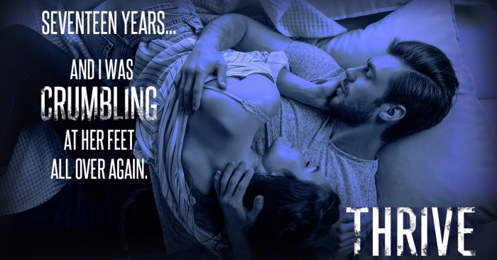 TEASER: THRIVE by Aly Martinez