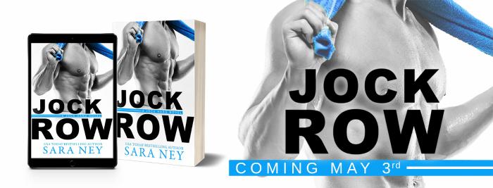 COVER REVEAL: JOCK ROW by Sara Ney