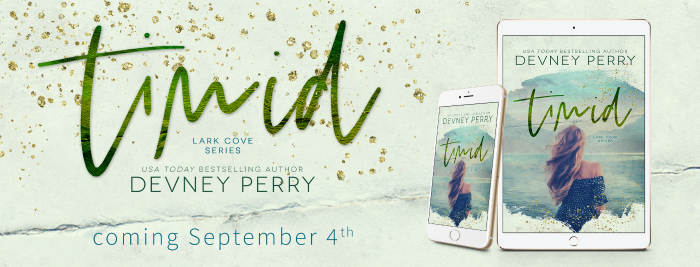 COVER REVEAL: TIMID by Devney Perry