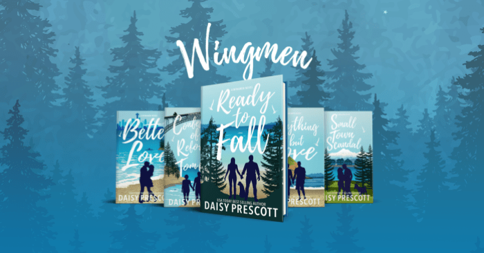 SERIES RELAUNCH: WINGMEN series by Daisy Prescott