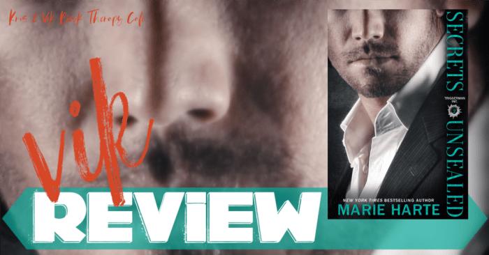 ✔ #NewRelease REVIEW: SECRETS UNSEALED by Marie Harte