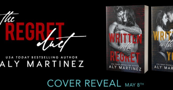 COVER REVEAL: THE REGRET DUET by Aly Martinez