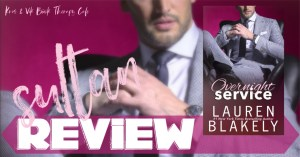 REVIEW: OVERNIGHT SERVICE by Lauren Blakely