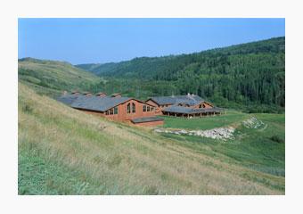 The Western Heritage Centre in Cochrane, Alberta, Canada