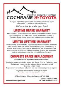 Cochrane Toyota Flyer