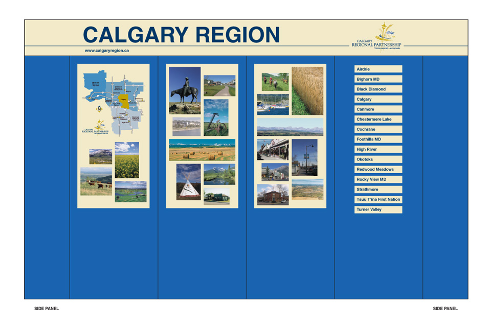 Calgary Regional Partnership Display Booth