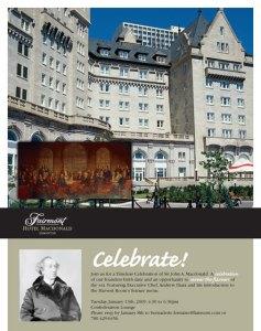 Fairmont Hotel MacDonald Email Newsletter