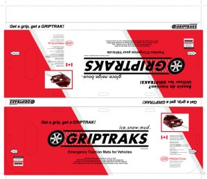 Griptracks Packaging
