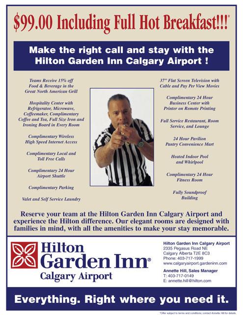 Hilton Garden Inn Email Newsletter