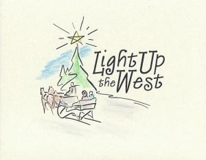 Light Up The West Invitation