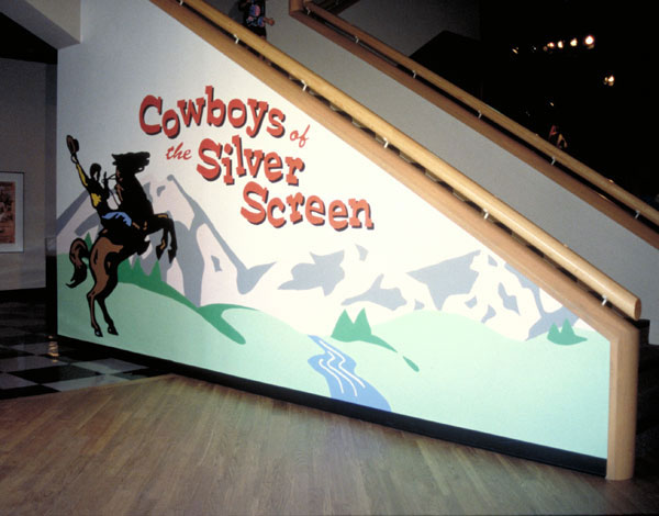 Cowboys of the Silver Screen Mural
