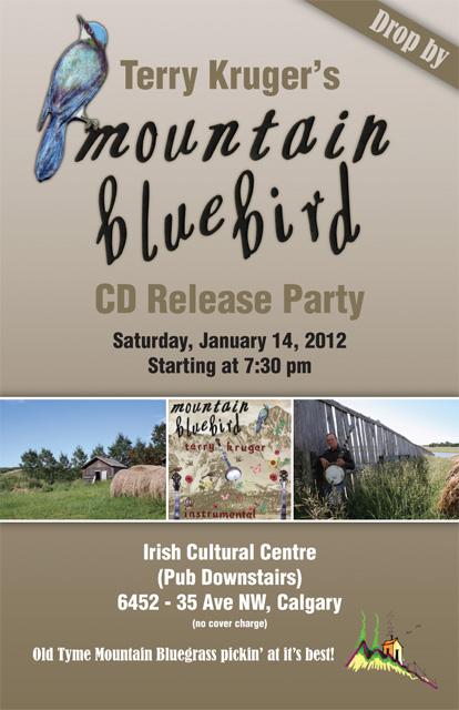 Terry Kruger Rocky Mountain Bluebird