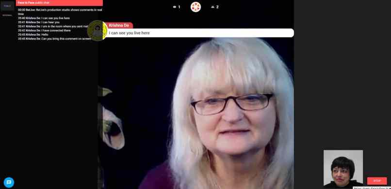luxurious and splendid live stream chat room. How To Get Started Live Streaming Facebook Using Belive Tv  stream chat room live www lightneasy net