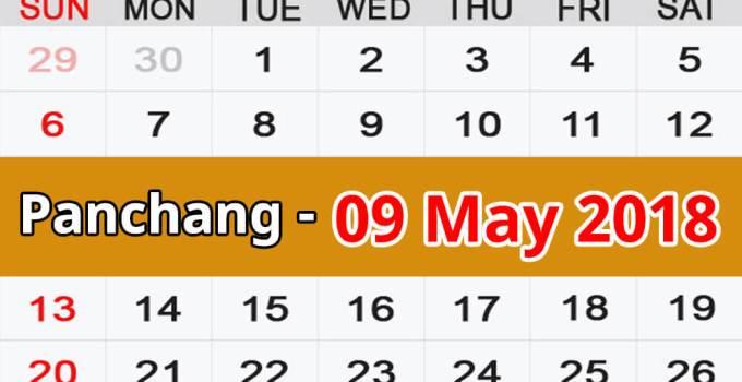 Panchang 09 May 2018
