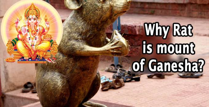 Why Rat is mount of Ganesha - Krishna Kutumb
