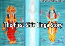 Why Shiva Cursed Brahma Dev - Story of First Shiva Linga - Krishna Kutumb