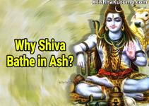 Why Shiva bathe in ash - Krishna Kutumb