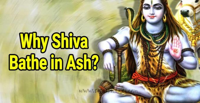 Why Shiva bathe in ash - Krishna Kutumb