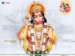 lord hanuman hd images - singing - Krishna Kutumb