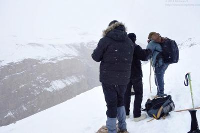 Scanning the ridge