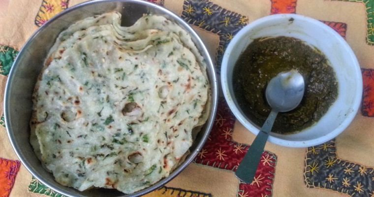 Thalipeeth Recipe, Akki Roti