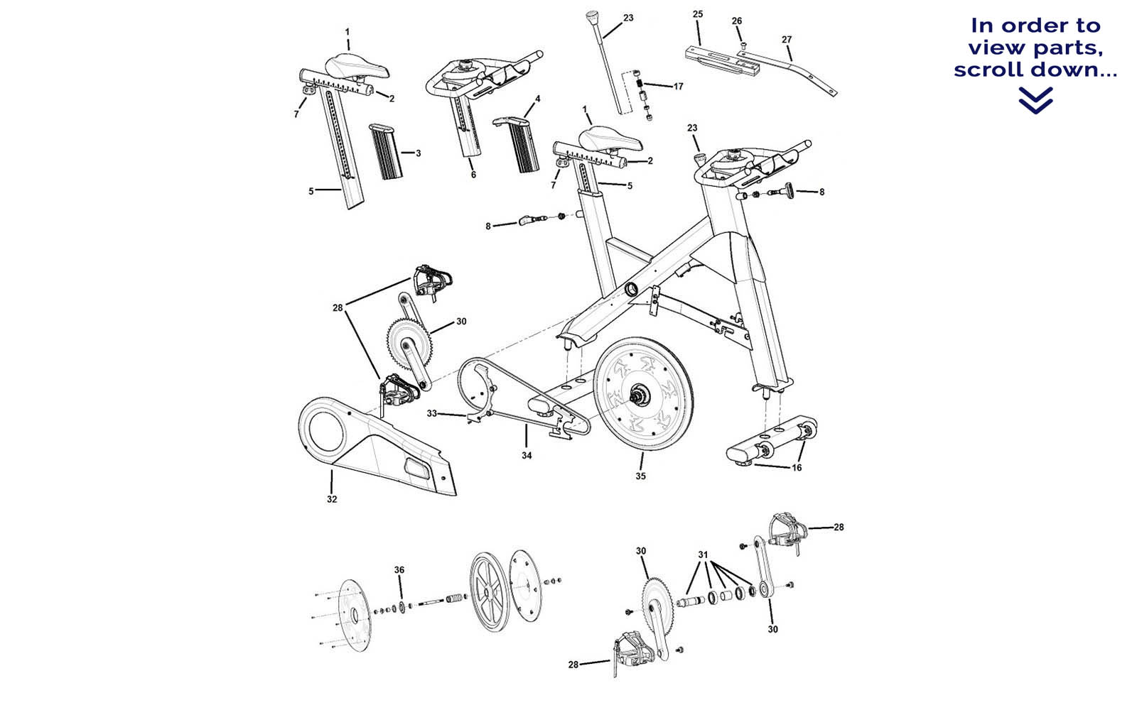 Bicycle Chain Parts Diagram