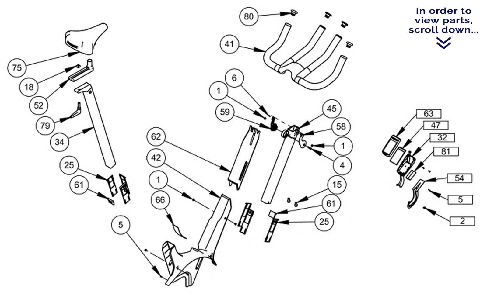Bicycle Handlebar Parts Diagram