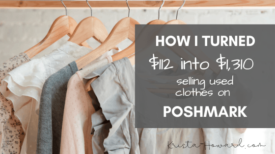selling used clothes on poshmark