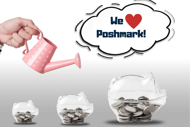 clear piggy banks with coin