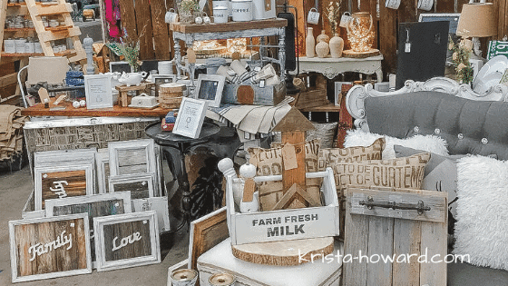 Market Beautiful Vintage Market - Booth by Vintage And Restore By K