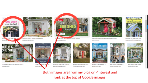 Images Rank Page 1 Google