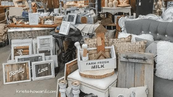Vintage Market Booth Ideas
